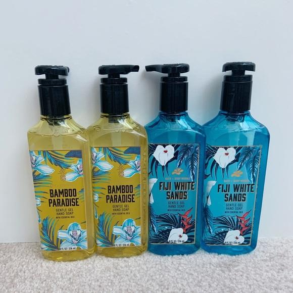 Bath & Body Works paradise hand soap bundle